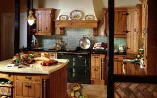 Кухня в стиле кантри – характерные черты и возможные направления