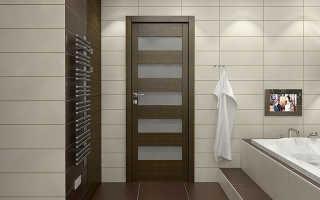 Мы выбираем дверь в ванную