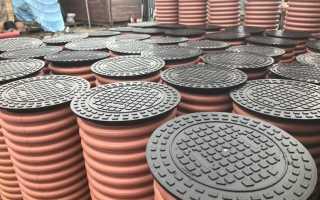 Устройство колодца из бетонных колец – дренаж, канализация, водопровод
