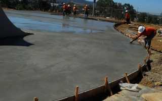 Время застывания бетона в зависимости от температуры окружающего воздуха