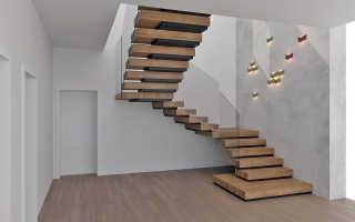 Винтовая сборная лестница – экономия пространства и оригинальность
