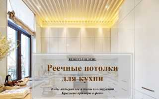 Реечный потолок на кухне – особенности, дизайн, монтаж конструкции