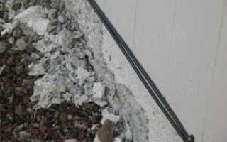 Восстановление фундамента под существующим домом – причины разрушения и ремонт