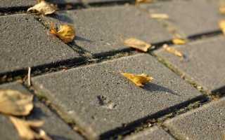 Cостав бетона для тротуарной плитки – способы производства и изготовление