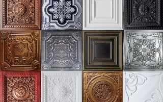 Как и чем покрасить потолочную плитку. Приёмы и технология