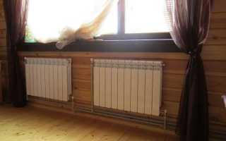 Как вешать радиаторы