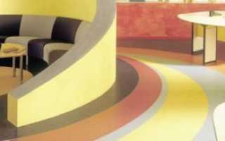 Гомогенный линолеум Таркетт: преимущества