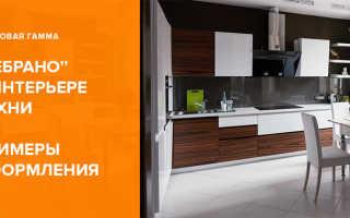 Кухня зебрано в интерьере – оригинальное решение в оформлении помещения
