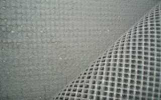 Армирующая сетка под шпаклевку –способы укладки разных видов материала