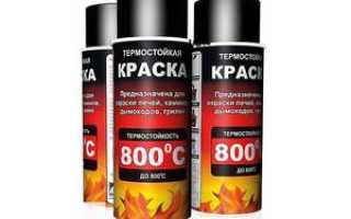 Термостойкая краска – специфика производства и нанесения, популярные марки