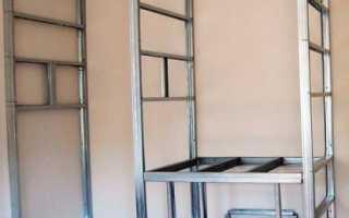 Встроенные шкафы из гипсокартона – особенности, преимущества, этапы установки