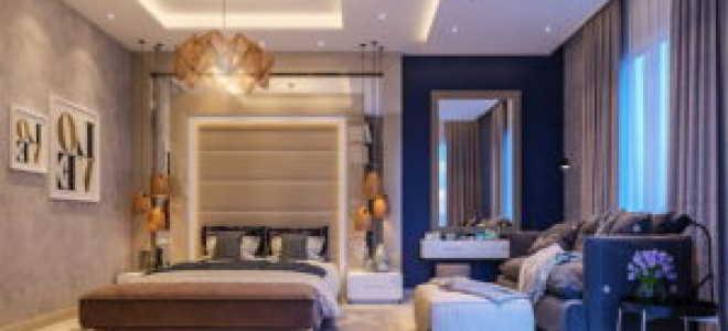 Оформление стен спальни – 5 модных вариантов