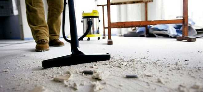 Делаем сами качественную уборку после ремонта: разбираем все нюансы