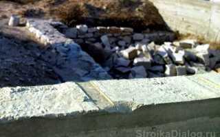 Как выровнять фундамент после заливки – варианты для боковых стен и горизонта