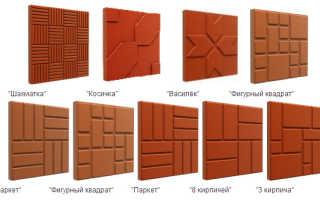 Тротуарная полимерная плитка – новое в строительстве