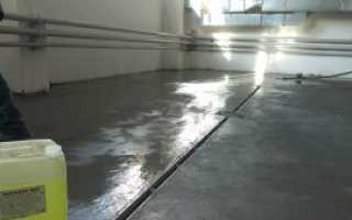 Пылит бетонный пол – причины появления, способы обеспыливания и обработка