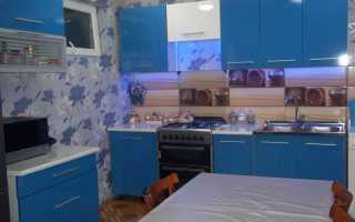 Кухня синего цвета – притягательность и опасность, приемлемые сочетания и советы