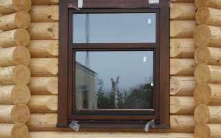 Пластиковые окна в деревянном доме – что нужно знать и учитывать при установке