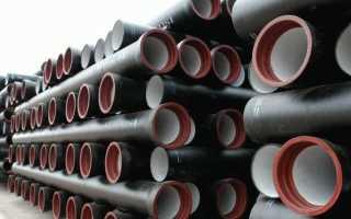 Трубы чугунные водопроводные – сортамент, изготовление, преимущества и монтаж