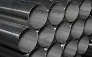 Нержавеющая тонкостенная труба круглого сечения – стандарты и сферы применения
