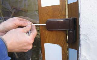 Регулировка входной пластиковой двери своими руками