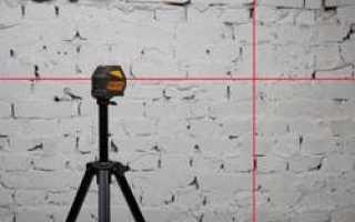 Как пользоваться лазерным уровнем – типы приборов, подготовка и процесс работы