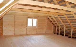 Гараж с чердаком – специфика строения, плитное и балочное перекрытие