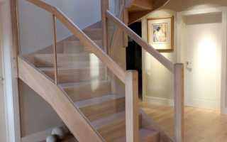 Лестницы в стиле хайтек – компактность и гармония