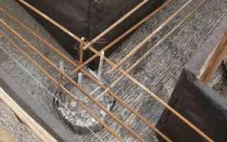 Каркас арматурный для ростверка – изготовление и установка