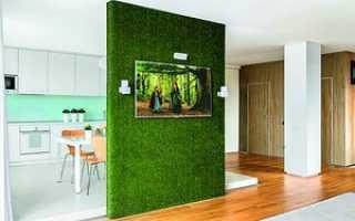 Дизайн перегородок в комнате и его варианты