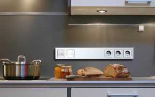 Как расположить розетки на кухне – места, количество и типы разъемов, советы