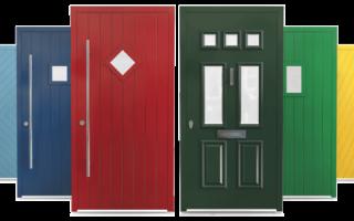 Чем покрасить металлическую дверь – виды красок