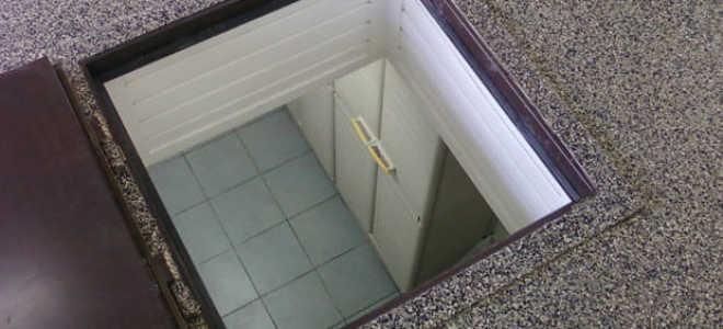 Из чего сделать пол в подвале
