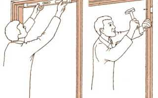 Сбор коробки межкомнатной двери – особенности и рекомендации