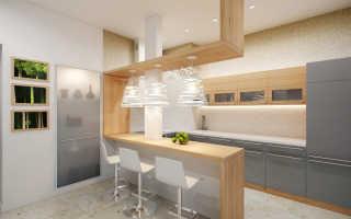 Барная стойка для кухни своими руками – доступные варианты, этапы установки