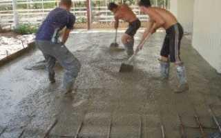 Фундамент на насыпном грунте – уплотнение насыпи, устройство монолитной плиты