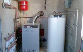 Отопление дома бойлером