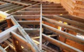 Балки перекрытия из бруса – основной опорный элемент в межэтажных конструкциях