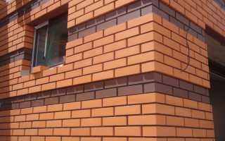 Облицовка стен кирпичом: особенности и этапы работ