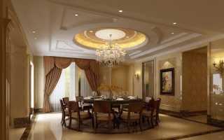 Дизайн подвесного потолка из гипсокартона: как лучше оформить