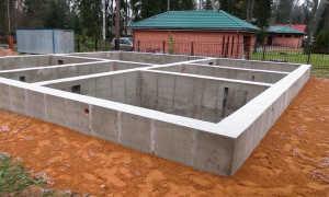 Особенности строительства фундамента