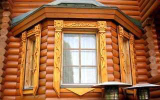 Наличники для окон в деревянном доме – выполняемые функции, материалы и формы