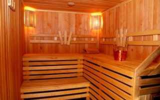 Чем обшить стены в бане