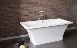 Ванны из искусственного мрамора: преимущества и особенности эксплуатации