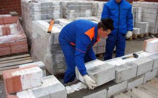 Как класть газосиликатные блоки своими руками?