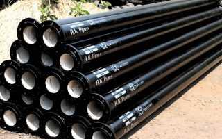 Чугунные канализационные трубы: виды, нормативные требования и способы литья
