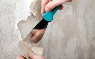 Как снять виниловые обои со стен без проблем