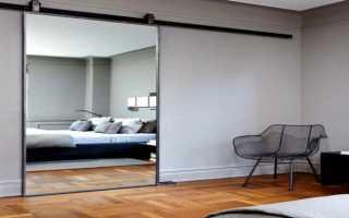 Раздвижные зеркальные двери – виды, достоинства, декорирование, цена