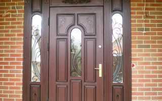 Чем обшить входную дверь – популярные материалы