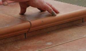 Укладка клинкерной плитки на пол